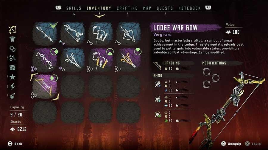 Lodge War Bow