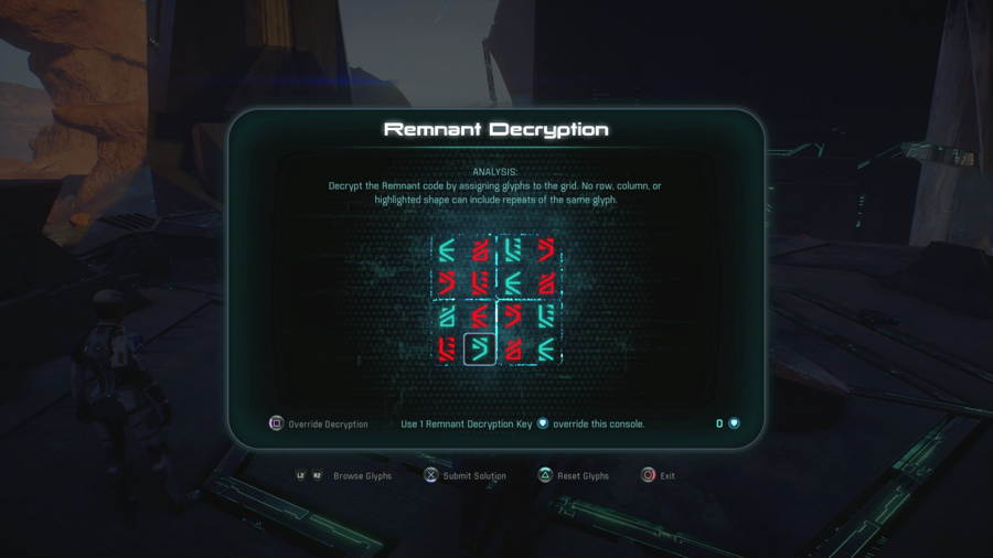 Mass Effect Andromeda A Better Beginning Remnant Decryption
