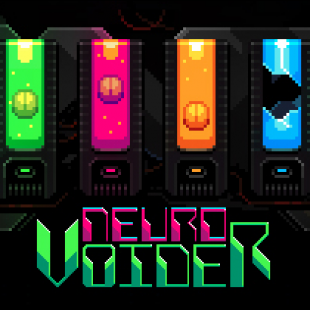 Twin-Stick Shooter RPG NeuroVoider Now Available on Consoles
