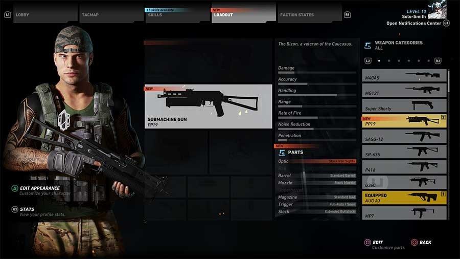 PP19 Gun