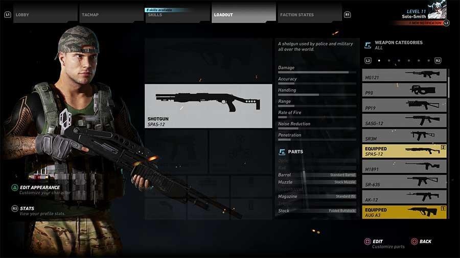 SPAS-12 Gun