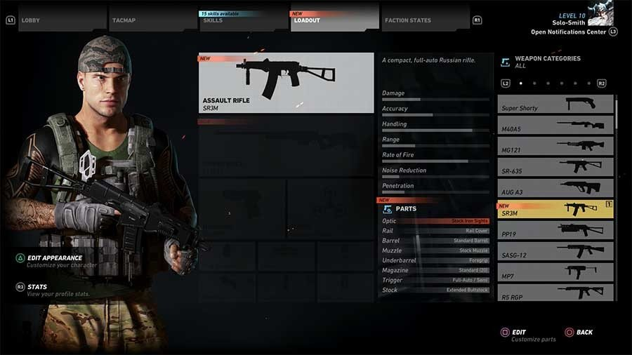 SR3M Gun