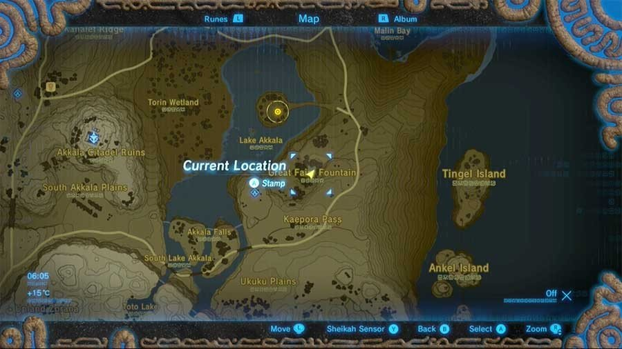 Where To Find The Intermediate Great Fairy Fountain In The Legend Of Zelda Breath Of The Wild