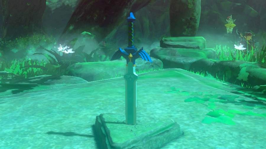 Where To Find The Master Sword In Zelda Breath Of The Wild