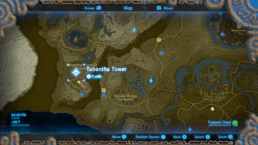 Where To Find The Third Great Fairy Fountain In The Legend Of Zelda Breath Of The Wild