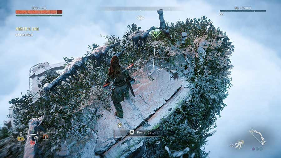 Where To Find The Third Power Cell In Horizon Zero Dawn Location