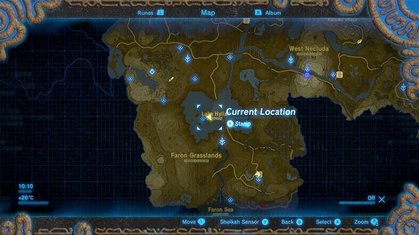 Zelda Breath Of The Wild A Wife Washed Away