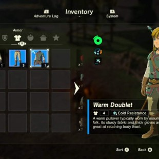 Where To Find Cold Resistance Gear In Zelda Breath Of The Wild