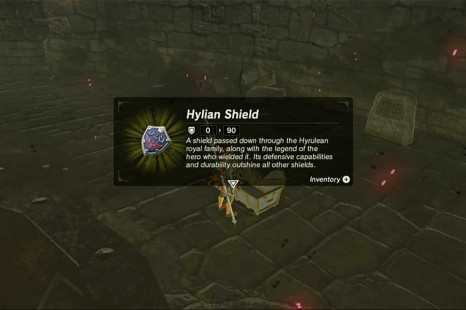Zelda Breath Of The Wild How To Get Hylian Shield
