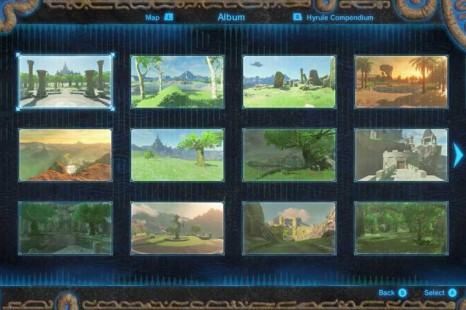 Zelda Breath Of The Wild Memories Location Guide