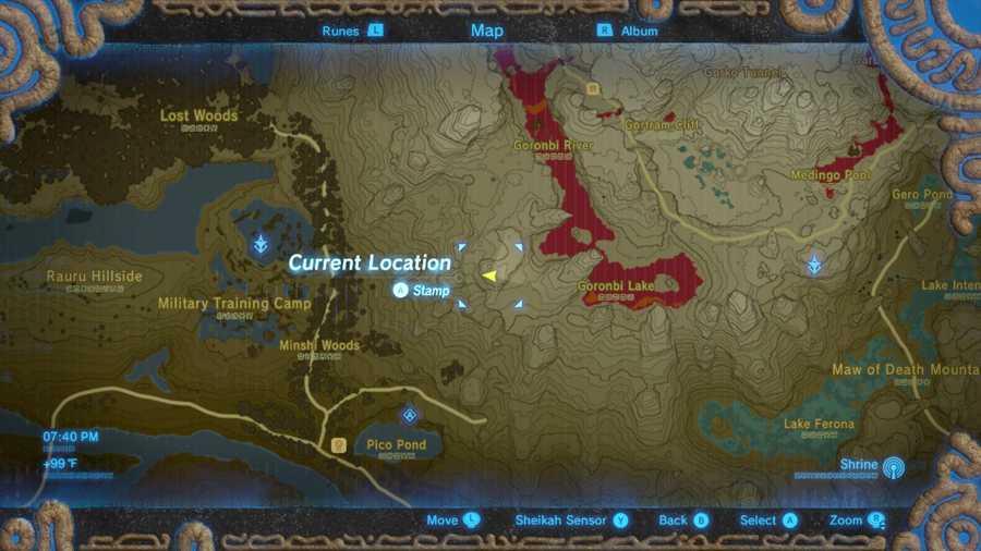 Zelda Breath Of The Wild Memory 5