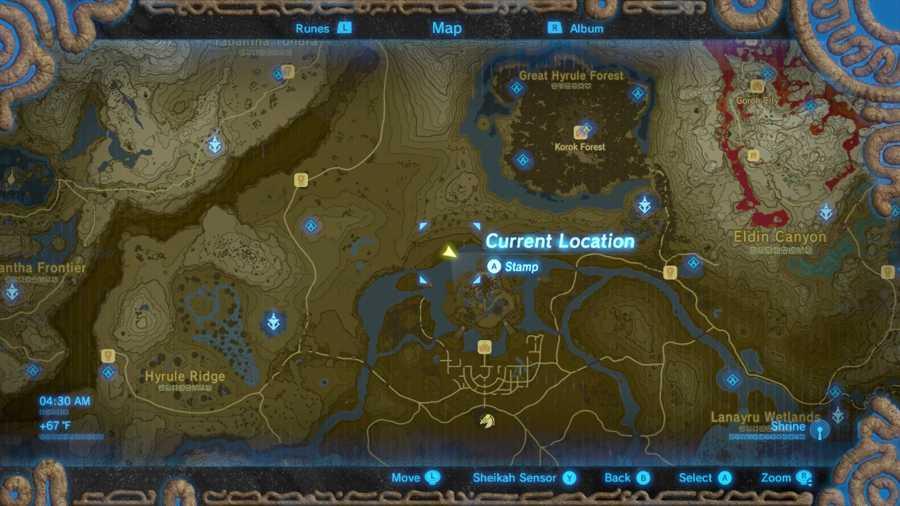 Zelda Breath Of The Wild Memory 8