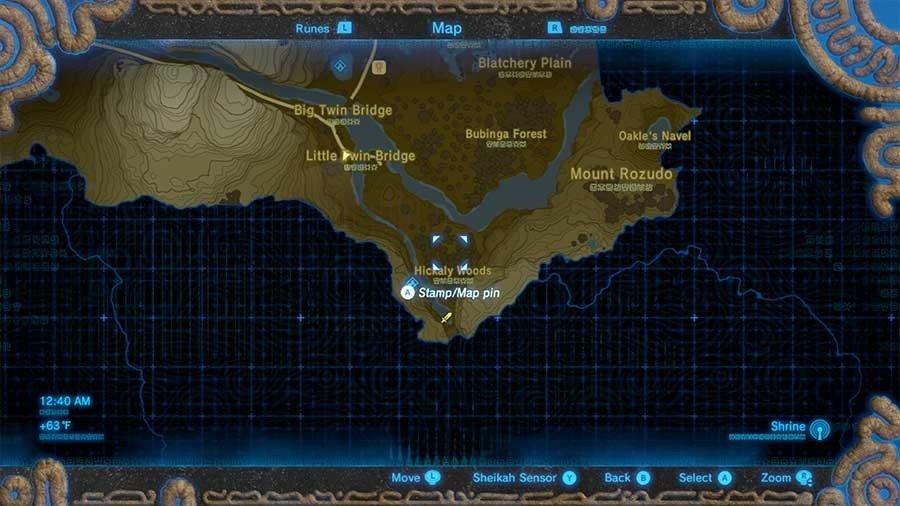 Zelda Breath Of The Wild Rare Weapon & Armor Guide Flameblade Location