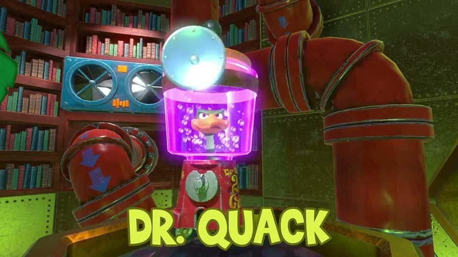 Dr Quack's Quiz Time Answers Stage 2 - Yooka-Laylee
