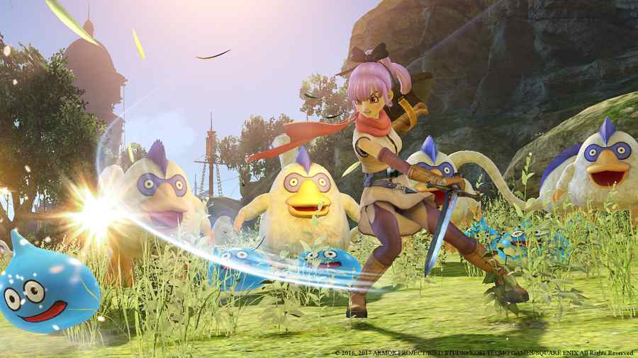 Dragon Quest Heroes 2 Combat