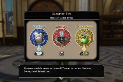 Dragon Quest Heroes 2 Monster Medals Type Guide