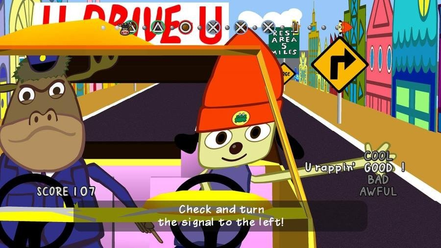 PaRappa the Rapper Remastered - Gamers Heroes