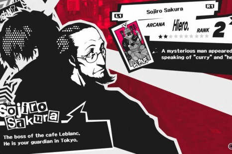 Persona 5 Subway Map.Persona 5 Confidant Guide Man Of The People Speech Giving Man
