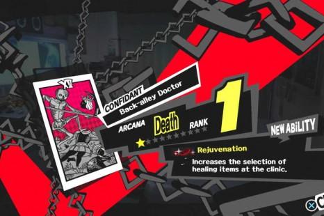 Persona 5 Confidant List
