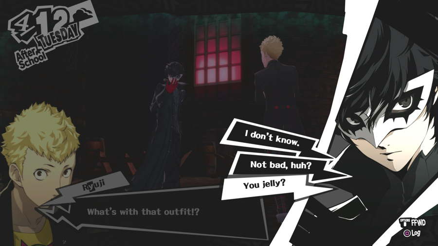 Persona 5 Review Choices