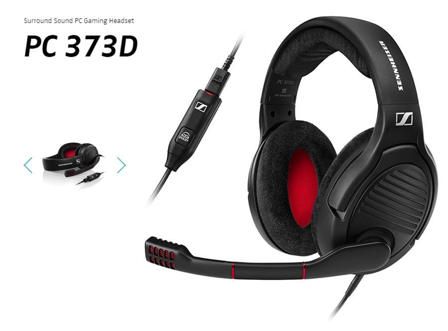 Sennheiser PC 373d Gaming Headset Review