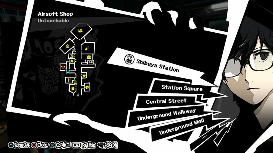 Where To Sell Items In Persona 5 Location