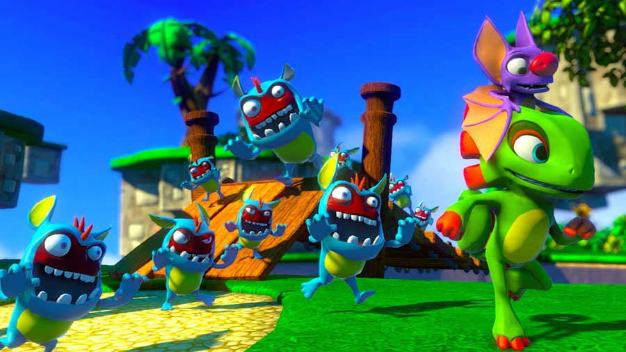 Yooka-Laylee Review - A New Game For An Older Generation