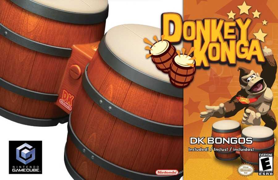 Donkey Konga Bongos