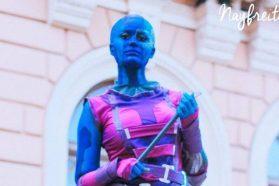 Cosplay Wednesday – Guardians of the Galaxy's Nebula