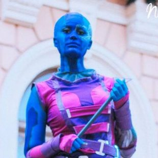 Cosplay Wednesday – Guardians of the Galaxy's Nebula