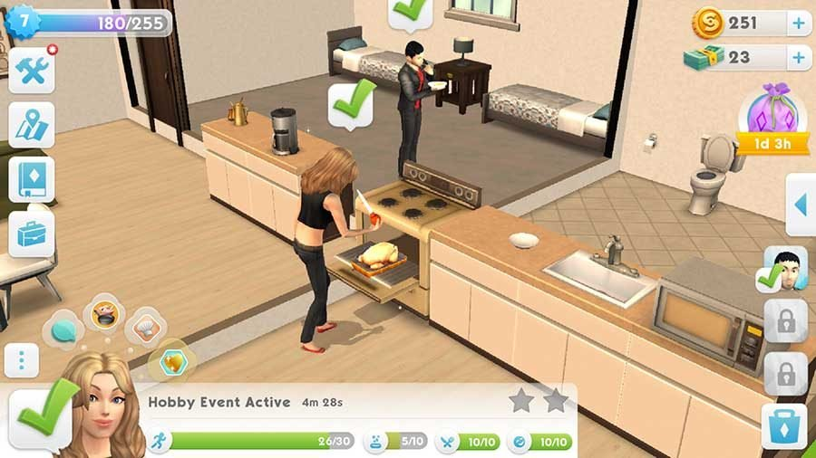 How To Cook Free Food In The Sims Mobile