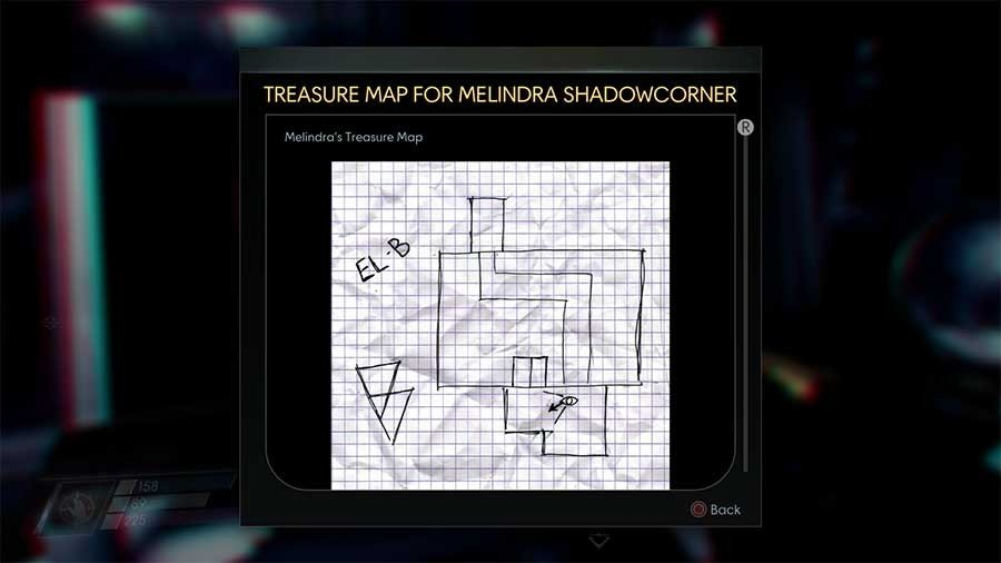 Investigate Melindras Map
