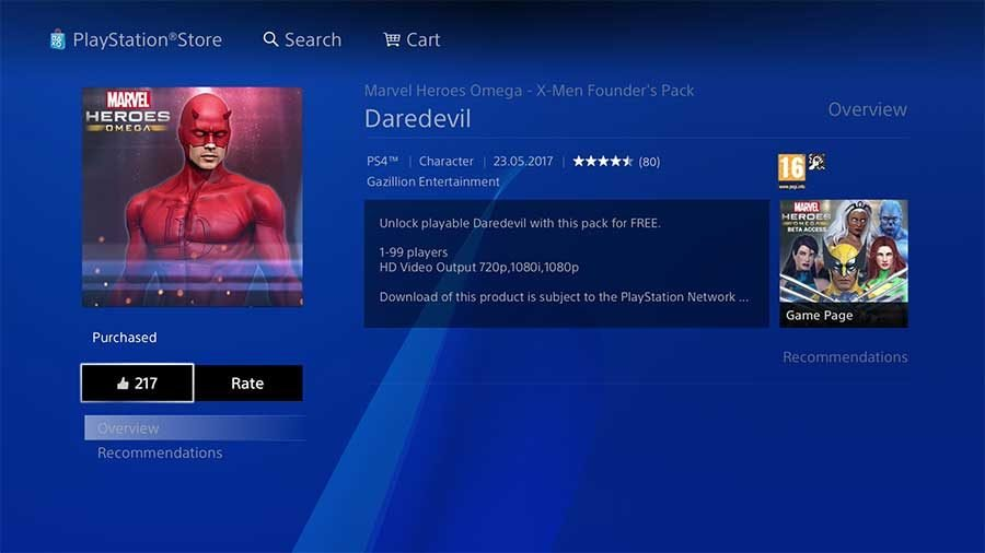 Marvel Heroes Omega - How To Get Daredevil Free On PlayStation 4