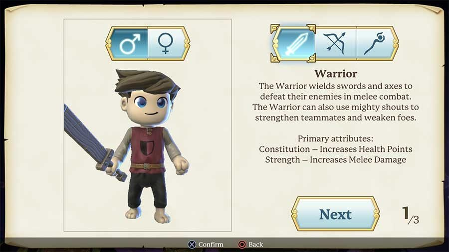 Portal Knights Class Guide