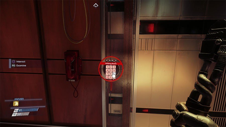 Prey Keypad Code Guide - List Of All Keypad Codes