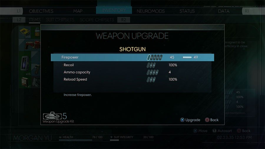 Prey Weapon Upgrade Kit Location Guide