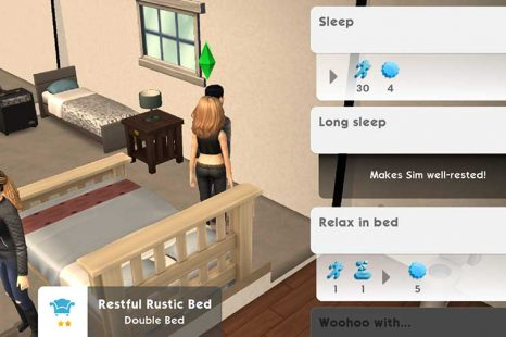 What Does Well Rested Do In The Sims Mobile