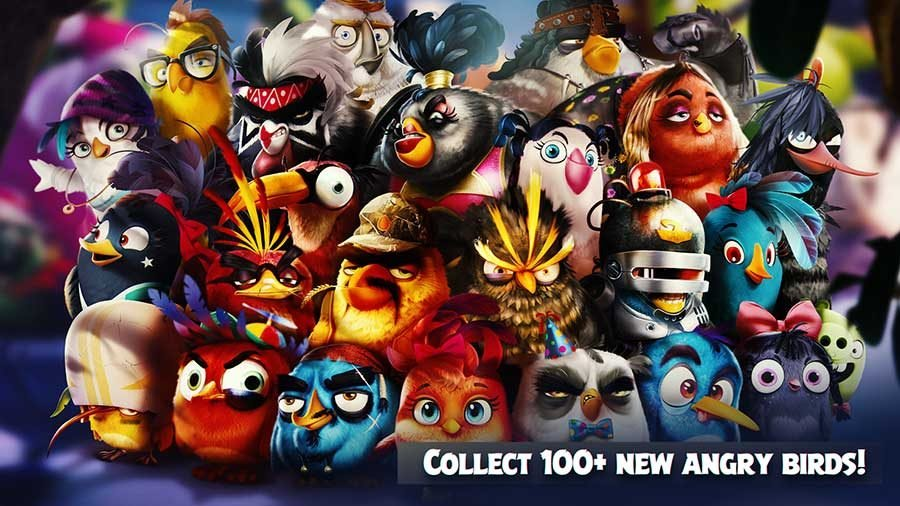 Angry Birds Evolution Birds Guide
