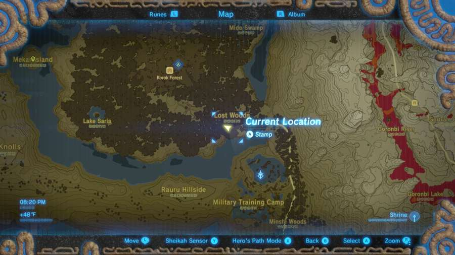Breath Of The Wild Korok Mask Location