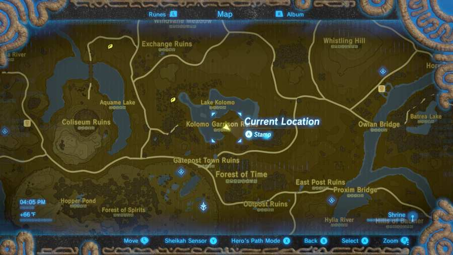 Breath Of The Wild Majora's Mask Location