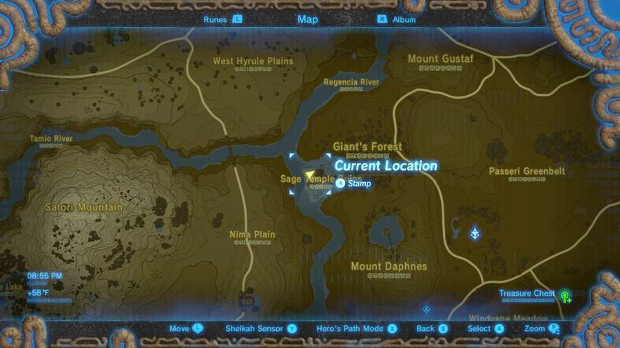 Breath Of The Wild Midna's Helmet Location