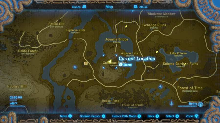 Breath Of The Wild Phantom Armor Set Location 1