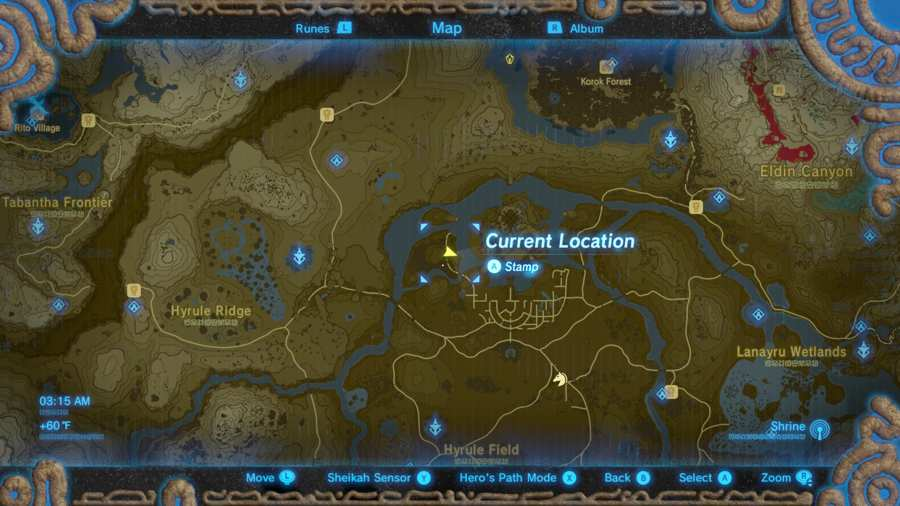 Breath Of The Wild Tingle's Outfit Location 1