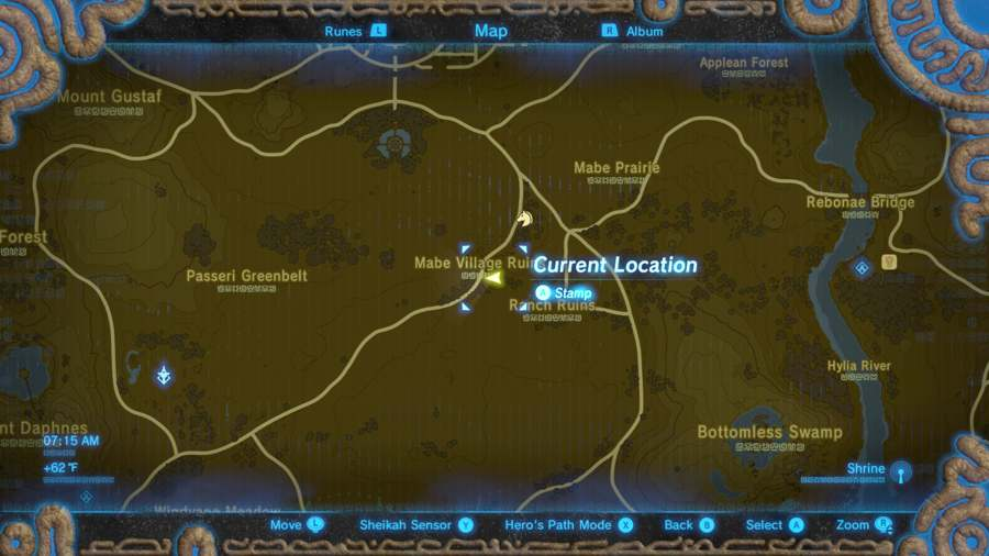 Breath Of The Wild Tingle's Outfit Location 2