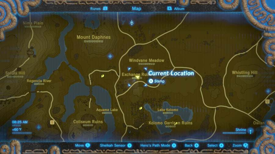 Breath Of The Wild Tingle's Outfit Location 3