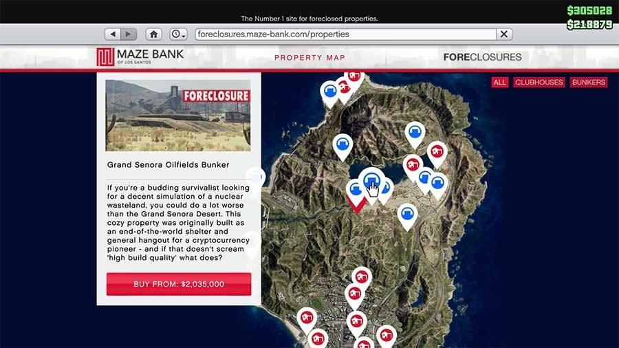 Grand Senora Oilfields Bunker
