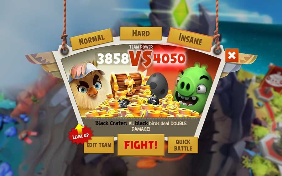 How To Change Difficulty In Angry Birds Evolution