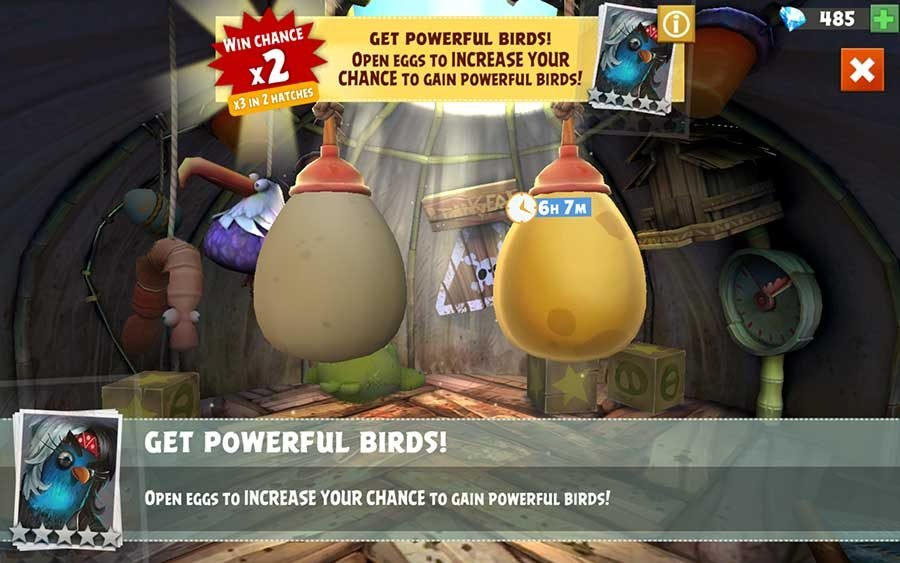 How To Get Rare 4 & 5 Star Birds In Angry Birds Evolution