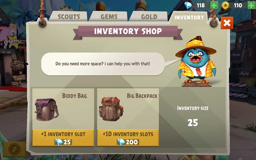 How To Increase Inventory To Carry More Birds In Angry Birds Evolution