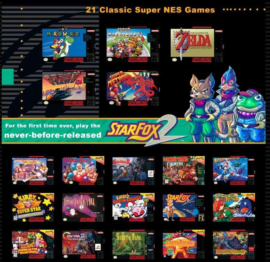 SNES Classic Edition - Gamers Heroes